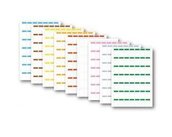 Pleuser® papieren labels 27 x 35 mm