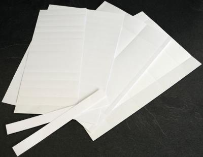 Blanco stroken voor badge (60 mm)