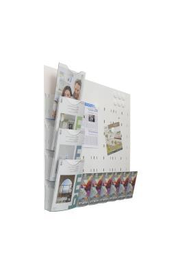 Magic brochurehouder/ magneetbord
