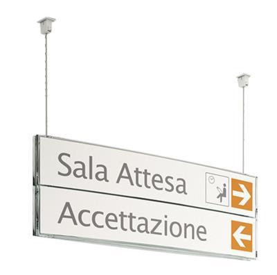 Hangend informatiepaneel Rome
