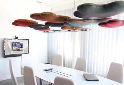 Hang over plafondpanelen