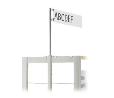 Kartonnen insert voor Etiketplaat