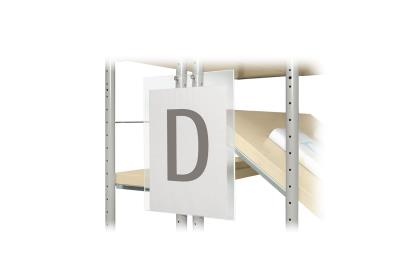 Beletteringsbord A4 (centrale ophanging)