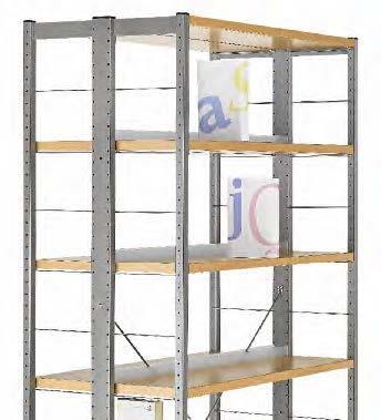 Boekenkast R.7/2 2000 x 900 (6 planken)