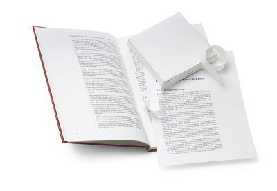 Tape voor losse pagina's met linnen structuur