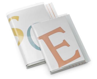 Versterkte covers paperbacks rug 1-21 mm  Formaat A  B 270 mm, H 185 mm