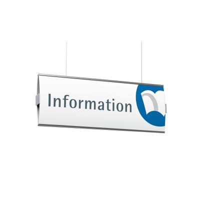Hangend informatiebord Frankfurt