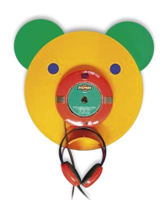 Luisterstation Teddybeer