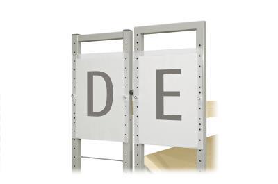 Beletteringsbord A4 (zijdelingse ophanging)