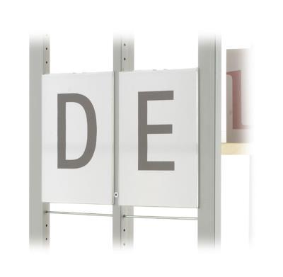 Beletteringsbord R.1 t/m R.6