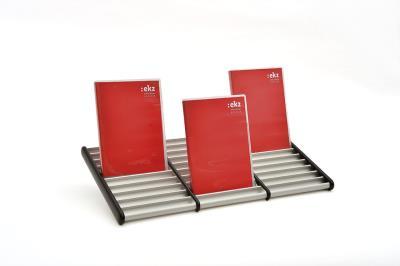 DVD-houder 3 rijen, max. 30 DVD's, B467 x D252 mm