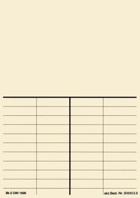 Boekenkaart versie B, natuurlijke kleuren zonder header